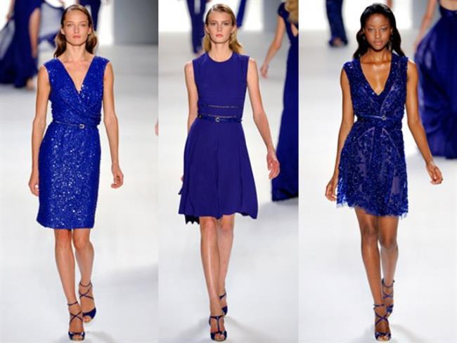 2018 Moda Renkleri ve Şık Elbise Modelleri İle Yaz Modası Lapis Mavisi