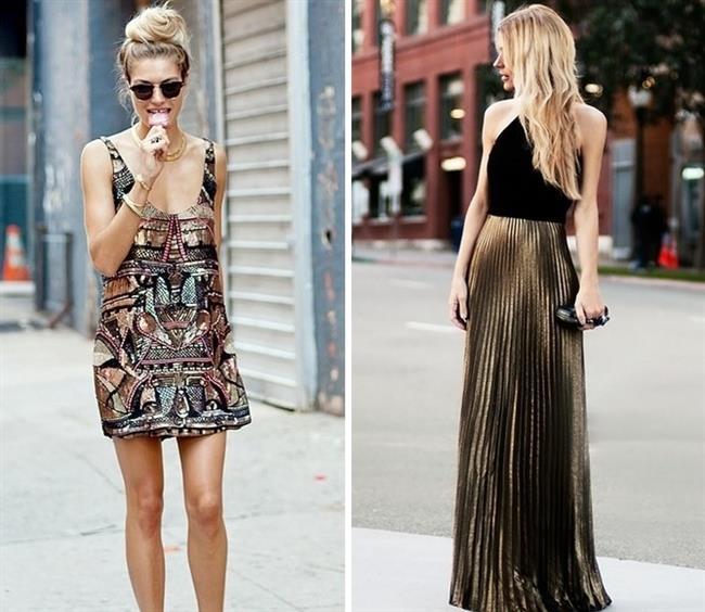 2018 Moda Renkleri ve Şık Elbise Modelleri İle Yaz Modası Metalik Renkler