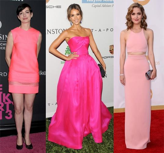 2018 Moda Renkleri ve Şık Elbise Modelleri İle Yaz Modası Pembe Tonları