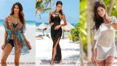 2018 Plaj Kıyafetleri, Sahillerin Şık Kıyafeti Plaj Elbiseleri