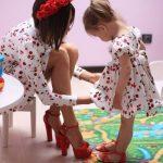 Anne Kız Kombinleri 2017 Anne ve Kızlarının Mükemmel Uyumu