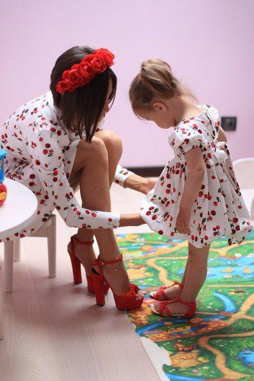 Yaz İçin En Güzel Anne ve Kız Kombinleri