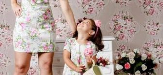 Yazlık Anne Kız Kombinleri Anne ve Kızlarının Mükemmel Uyumu