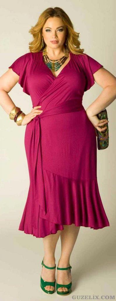 En Şık Büyük Beden Abiye Elbise Modelleri 2020 Hoş ve Çekici