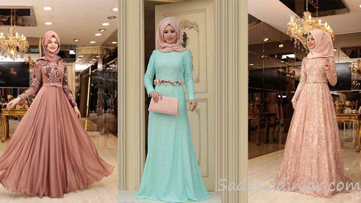 cf4e54ec2bbbf En Zarif ve Güzel Tesettür Abiye Modelleri | SadeKadınlar, Kıyafet ...