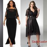 En Şık Büyük Beden Abiye Elbise Modelleri 2020