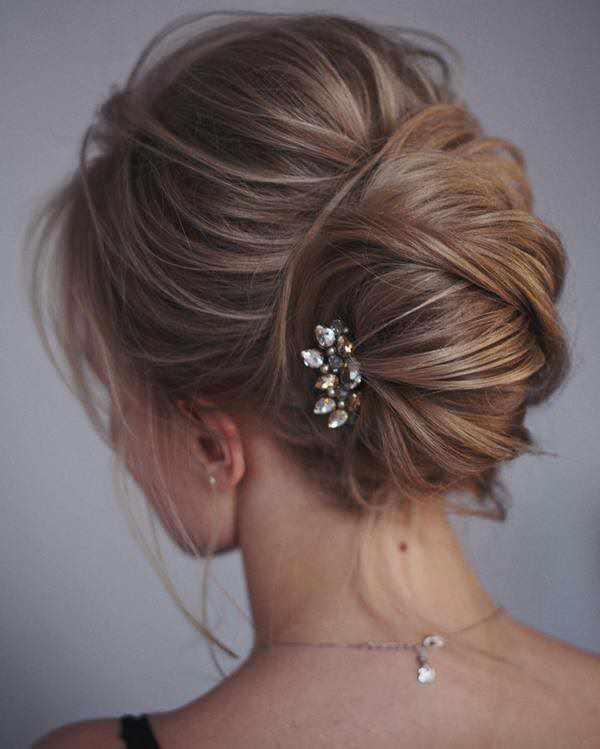 Gelin ba gelin sa modelleri 2018 topuz sa modelleri uptos for bridal sadekad nlar - Chignon moderne 2017 ...