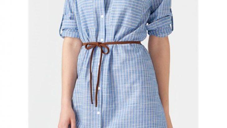 Uzun Gömlek Elbise Modelleri 2017 Şık Kombinler
