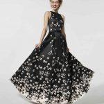 Pronovias Abiye Modelleri 2018 siyah gece elbisesi