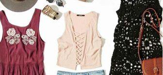 Yazlık Kombin Önerileri Şık Kıyafet Kombinleri 2017