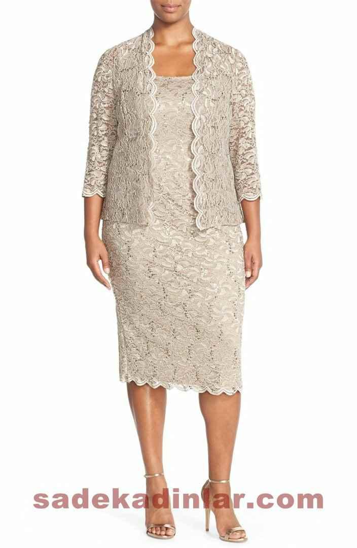 Yeni Büyük Beden Abiye Elbise Modelleri 2017 & 2018 Şık Gece Kıyafetleri