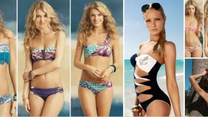 2019 Mayo ve Bikini Modelleri Canlı Renklerle Ön Planda