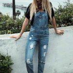 Şık Kot Tulum Modelleri En Güzel Bahçıvan Tulum