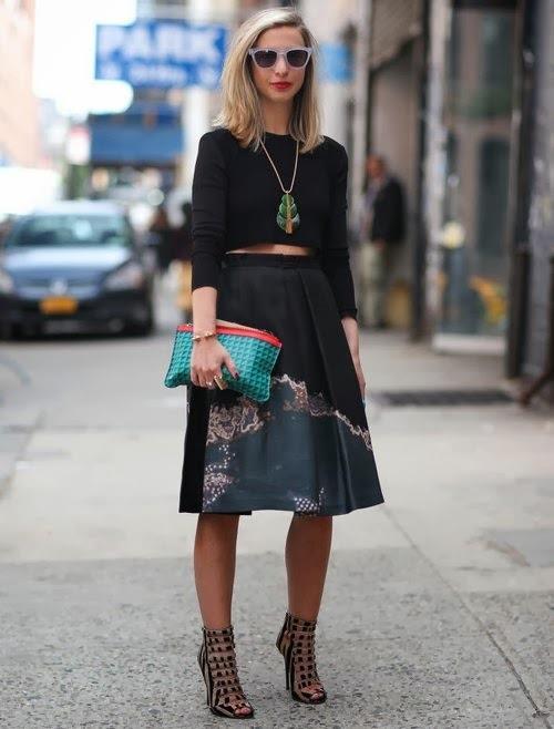 Sokak Modası Bayan Kıyafet Kombinleri, Bahar ve Yaz Trendleri