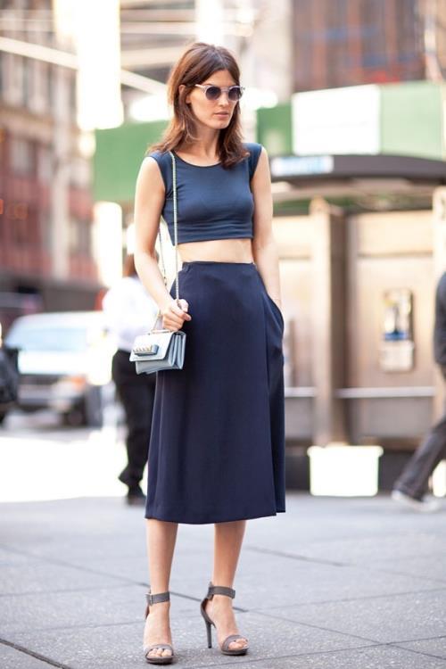Sokak Modası Kıyafet Kombinleri, 2018 Bahar ve Yaz Modası