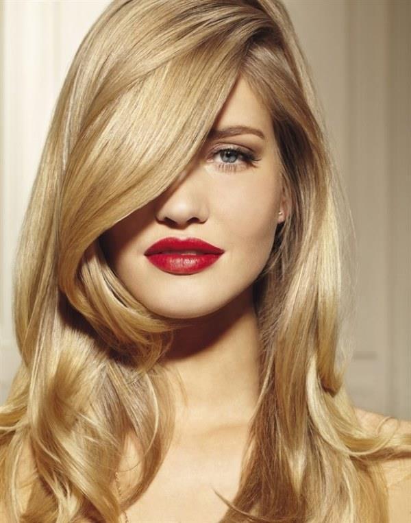 2019 Yazının En Moda Altın Sarısı Saç Renkleri ve Saç Modelleri