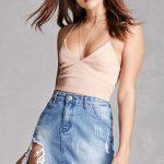 Erkeklerin Dikkatini Çeken Mini Etek Modelleri - Forever 21 Pixie Skirt