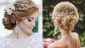 Düğün İçin Gelin Başı, 2017 Gelin Saçı Modelleri