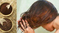 Kahve Telvesi İle Evde Doğal Saç Nasıl Boyanır?