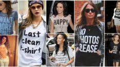 2018 Sokak Modası, Baskılı Tişört Kombinleri, Yaz Trendi