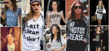 Yazlık Baskılı Tişört Kombinleri, 2019 Sokak Modası
