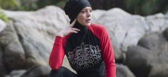 Tayland'da Tatil Yapan Hollywood Yıldıız Lindsay Lohan Haşema Giydi