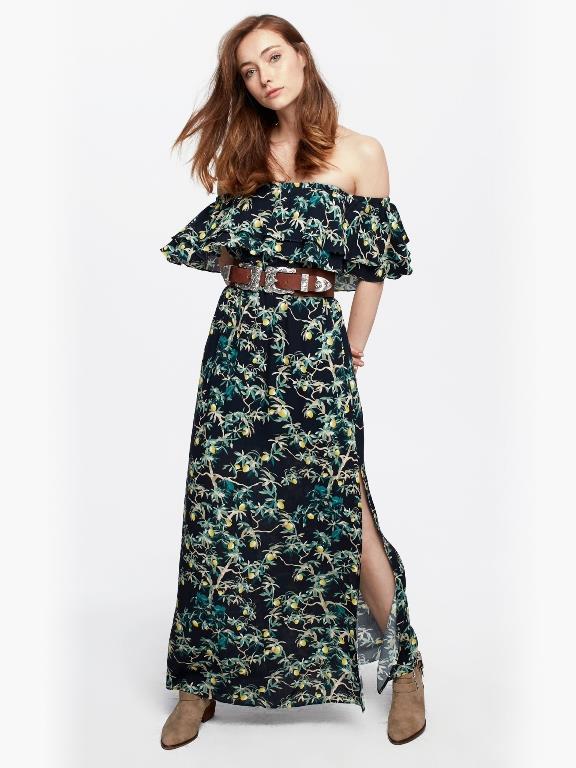 Ünlü Markaların Uzun Elbise Modelleri 2019 Twist Şık ve Rahat