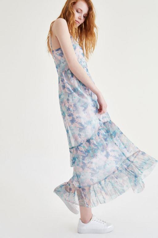 Ünlü Markaların Uzun Elbise Modelleri 2020 Oxxo Şık ve Rahat