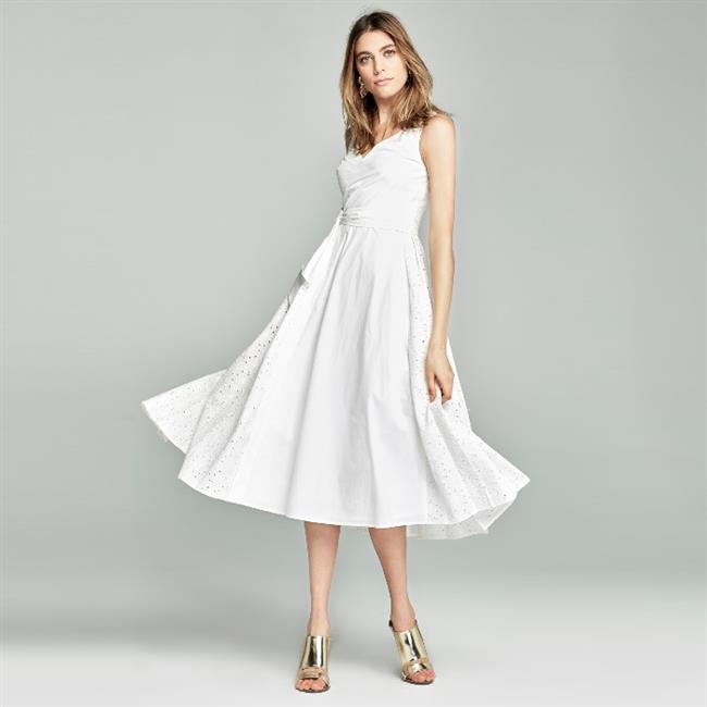 Ünlü Markaların Uzun Elbise Modelleri 2019 İpekyol Şık ve Rahat
