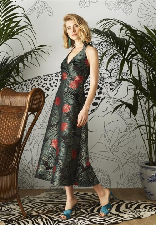 Ünlü Markaların Uzun Elbise Modelleri 2020 Adil Işık Şık ve Rahat