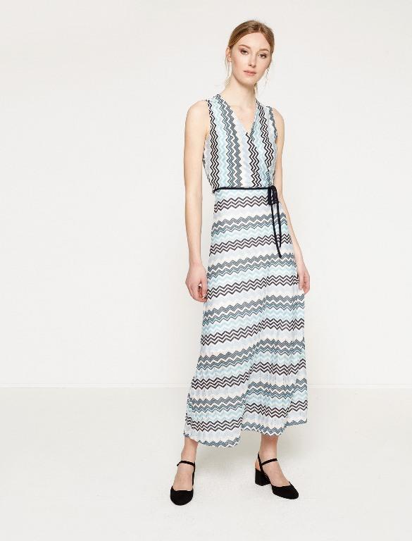 Ünlü Markaların Uzun Elbise Modelleri 2020 Koton Şık ve Rahat
