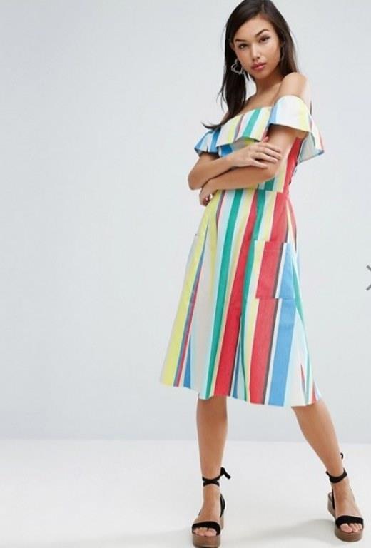 Ünlü Markaların Uzun Elbise Modelleri 2017 Asos Şık ve Rahat