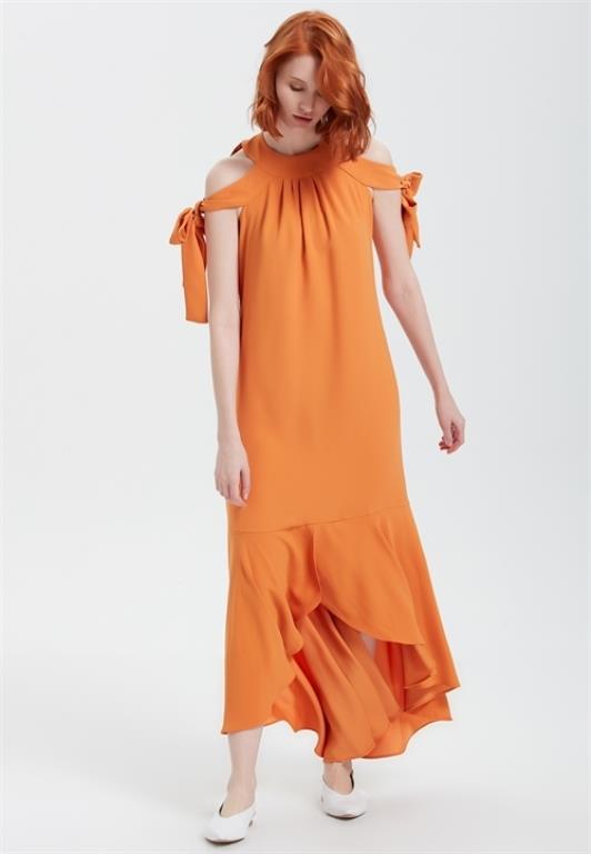 Ünlü Markaların Uzun Elbise Modelleri 2019 Adil Işık Şık ve Rahat