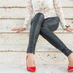 2017 Deri Pantolon Kombinleri Son Dönemlerin Modası