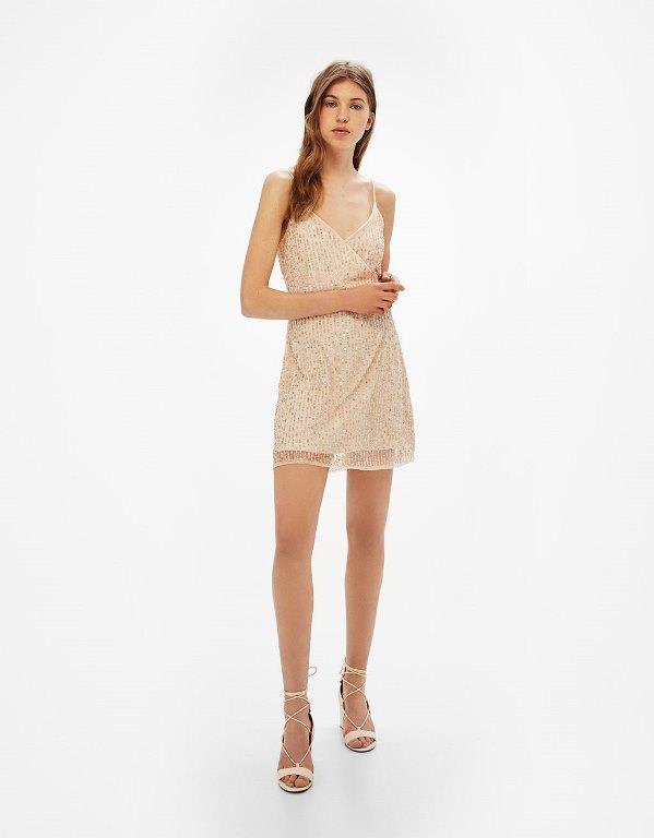 Bershka 2017 Kısa Mezuniyet Elbise Modelleri