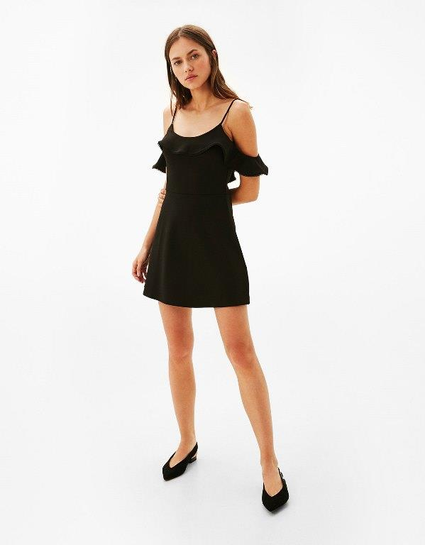 Bershka 2020 Kısa Gece Elbiseleri Abiye Modelleri