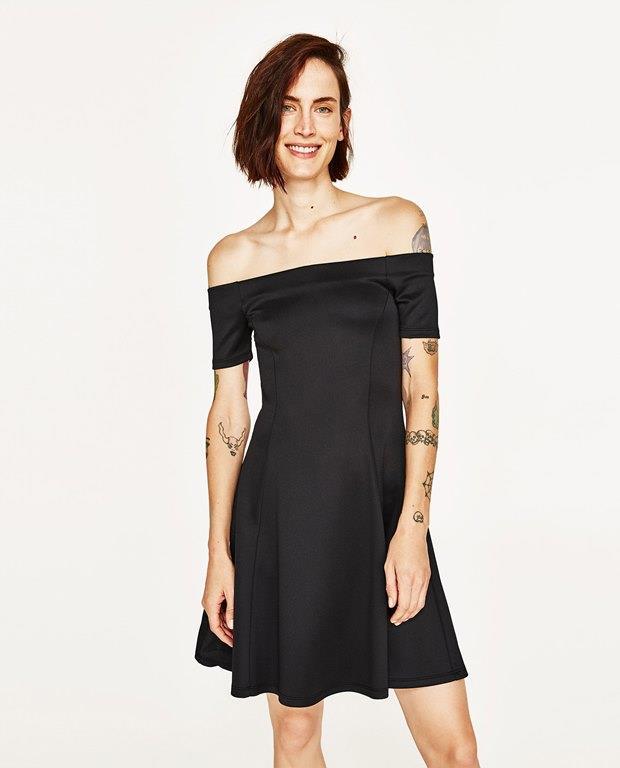 Zara 2017 Kısa Mezuniyet Elbise Modelleri