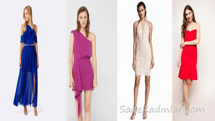 2018 Kısa Mezuniyet Elbisesi Modelleri