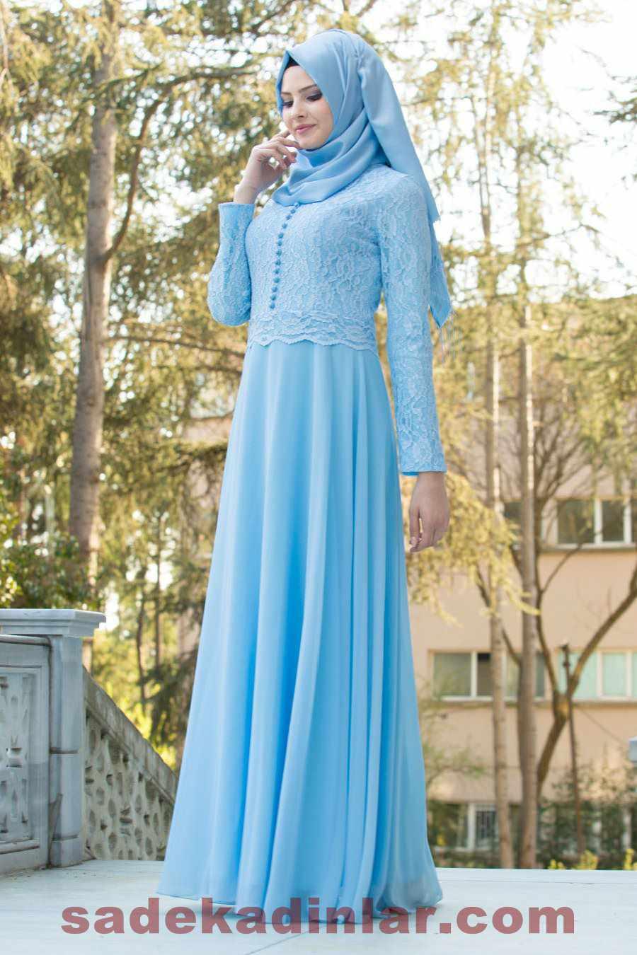 ecdd1d4add19c Tesettür Markaların En Güzel Abiye Modelleri 2019 | SadeKadınlar, Kıyafet  Kombinleri
