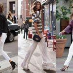 En Şık Beyaz Pantolon Kombinleri Dikkat Çekici ve Rahat