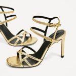 Özel Davetler İçin Zara 2017 Abiye Ayakkabı Modelleri Şık Stilettolar