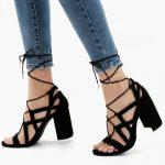 Özel Davetler İçin Bershka 2017 Abiye Ayakkabı Modelleri Şık Stilettolar