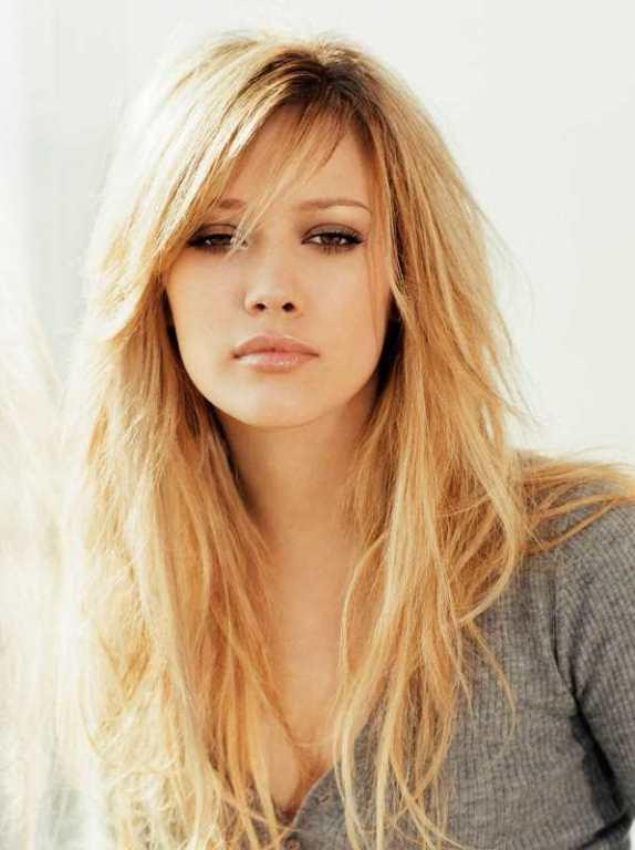 Saç Modelleri 2017 Yan Kahküllü Saç Kesimi İnce Telli Saçlar İçin