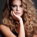 Saç Modelleri 2017 Kıvırcık Saç Modeli İnce Telli Saçlar İçin
