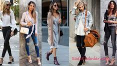 2018 & 2019 Sokak Modası Günlük Kıyafet Kombin Önerileri