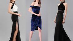 Düğün İçin Göz Alıcı Şık Gece Elbiseleri ve Abiye Modelleri 2018