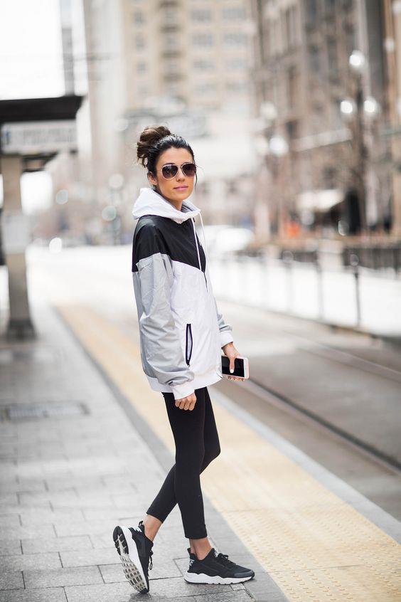 bdd283625d851 Şık ve Rahat Günlük Kıyafet Kombinleri 2019 Spor Giyim · «