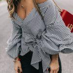 Omzu Açık Bluz Kombinleri 2019 İlkbahar Yaz Moda Trendleri