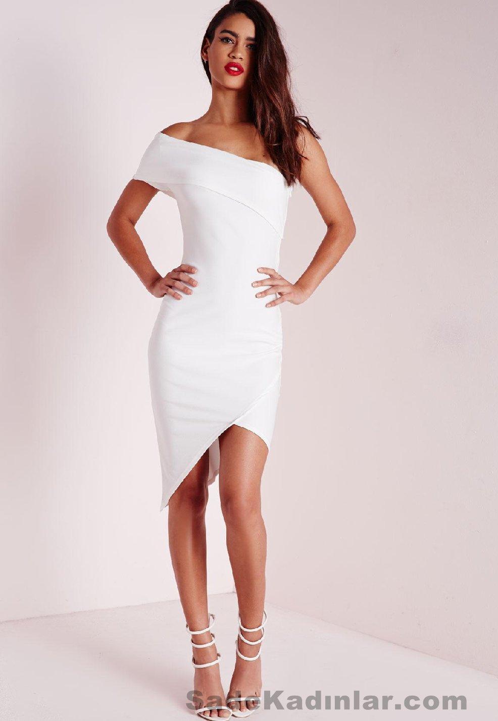 Yaz 2019 Beyaz Elbise Kombinleri