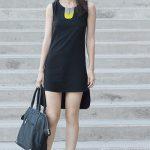 Siyah Elbise Kombinleri 2019 Abiye Modelleri siyah kısa önü kısa arkası uzun sade ve şık